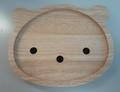 くまの木製プレート
