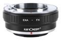 K&F exakta エキザクタ -フジX FX マウントアダプター exa-fx (KFFX)