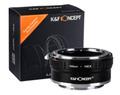 K&F ニコン F レンズ-SONY NEX Eマウント マウントアダプター Ver2 nf-nex2 (KFNEX)
