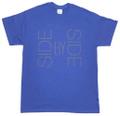 ハードツアイス Tシャツ -SBS- インディゴブルー