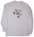 ハードツアイス 長袖TEE -HPX175- グレー