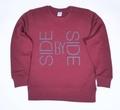 ハードツアイス スエット -SBS- ワイン