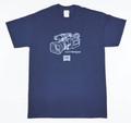 ハードツアイス Tシャツ -VX1000xGILDAN- ネイビー