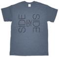 ハードツアイス Tシャツ -SBS- アッシュチャコール