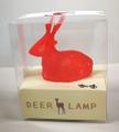 鹿ランプ(赤)