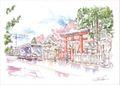 ひとまち百景ポストカード 氷室神社
