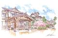 ひとまち百景ポストカード 奈良ホテル