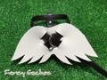 羽飾りハーネス・ダークブラウン (ミンクル革製)
