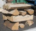 カシの薪(平成28年12月伐採)