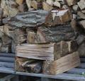 コナラの薪(平成29年7月伐採)