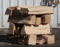 コナラの薪(平成29年11月伐採