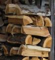 ヒガンザクラの薪(平成29年11月伐採)