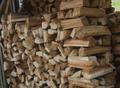 ヒガンザクラの薪(平成29年4月伐採)