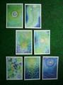 blue&green 7枚組ポストカードセット