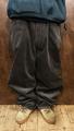 5nuts pants uniform corduroy Jr shape CHARCOAL