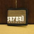 satori wallet hemp leaves be-fold SAND
