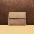 theories wallet lantern PU card  BROWN