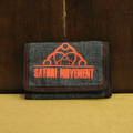 satori wallet half link tri-fold DENIM