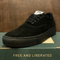state shoe pacifica cup BP × BIGFOOT BLACK/BLACK suede