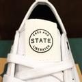 state shoe harlem WHITE/WHITE