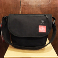 theories x manhattan portage bag casual messenger BLACK