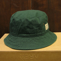 color communications hat cotton tag bucket GREEN