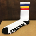 WKND socks stripe WHITE
