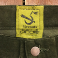 5nuts pants uniform corduroy Jr shape DARK.OLIVE