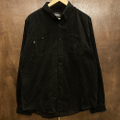 theories l/s shirts utility cord BLACK
