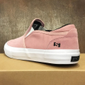 state shoe keys CANDY.PINK/WHITE suede