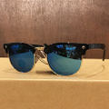 glassy sunglass morrison BLACK/BLUE.MIRROR.POLARIZED