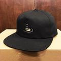 KAONKA cap clear EMB snapback BLACK/STONE