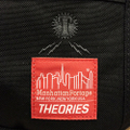 theories x manhattan portage bag alleycat waist bag BLACK