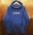 WKND pullover hood shut up hoodie ROYAL