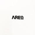 AREth tee 2020 SUMMER galaxy WHITE/BLACK