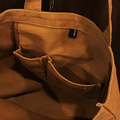 KAONKA bag agartha toto CAMEL/BLACK