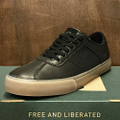 state shoe leland BLACK/GUM full grain leather