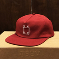 WKND cap square logo RED