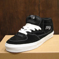 vans shoe halfcab BLACK