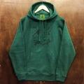 KAONKA pullover hood handcode FOREST/BLACK