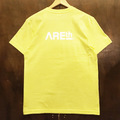 AREth tee logo YELLOW