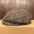 brixton cap brood snap cap DARK BROWN