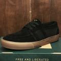 state shoe vista × matt rodriguez BLACK/GUM suede