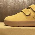 AREth shoe I velcro 20LT BEIGE nubuck