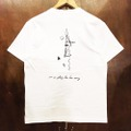 AREth tee 2020 SUMMER galaxy WHITE/BLACK