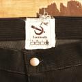 5nuts pants uniform corduroy Jr shape DARK.BROWN