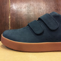 AREth shoe I velcro NAVY nubuck