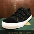 state shoe harlem BLACK/WHITE STRAPPED