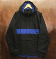 theories jacket stamp sport BLACK/ROYAL