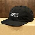 KAONKA nylon cap 2021 SPRING barcode logo BLACK